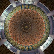 The Dome of Shah Alam Mosque, Kuala Lumpur, Malaysia.