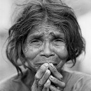 Elderly Indian Lady