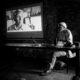 Peter Sanders during the Jornadas Photographic Festival, Platja d'ari, Gerona, Spain